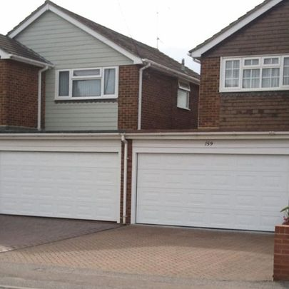 Novoferm Georgian Sectional garage doors