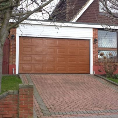 Novoferm Sectional Garage Door in RAL finish